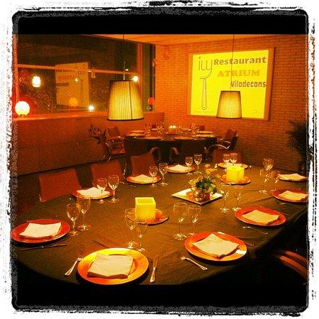 Imaginatrium - Restaurant Atrium Viladecans : Restaurante