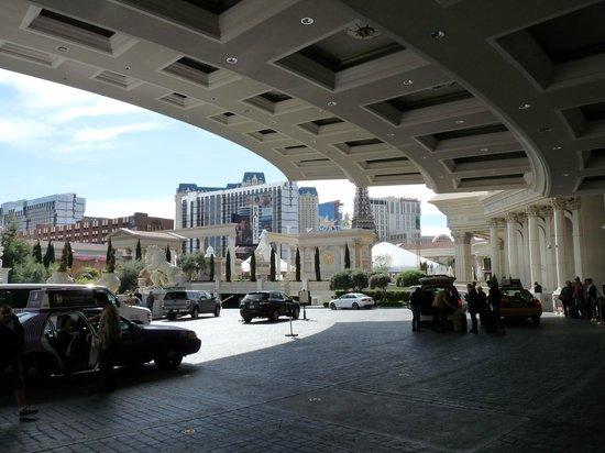 Caesars Palace: Auvent