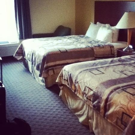 Sleep Inn & Suites Pooler:                   room was decent