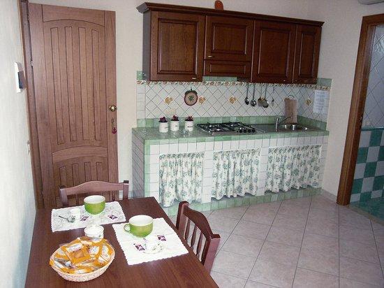 Gran Residence Marisa: Cucina di un appartamento
