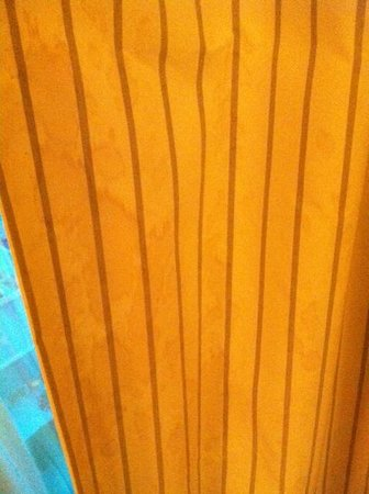 Mandalay Bay Resort & Casino: Heavily stained curtains but might be hard to see in the picture 