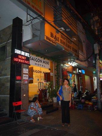 Meraki Hotel:                   Saigon Mini Hotel 6 front