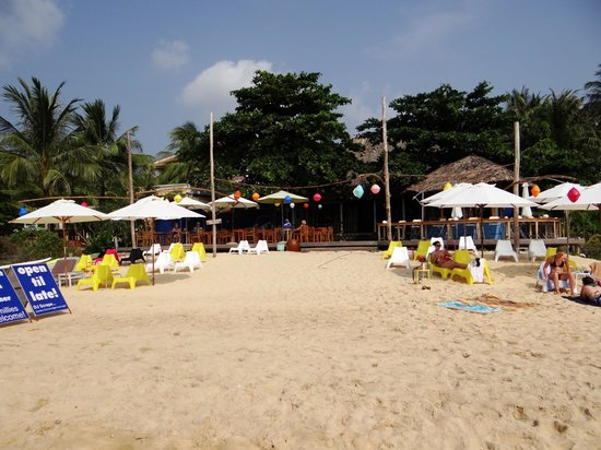 Rory's Beach Bar:                   Der Strand