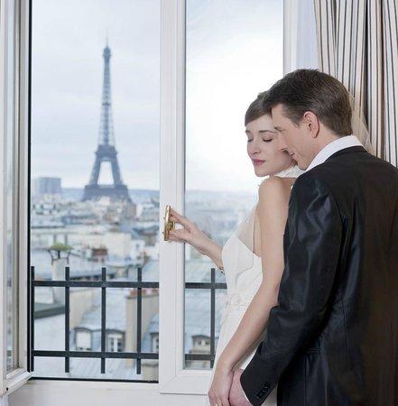Hotel Astor Saint-Honore: Vue sur la Tour Eiffel