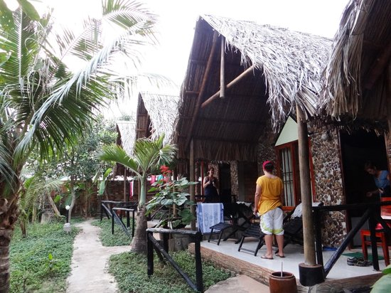 Mai Phuong Beach Resort:                   Bungalows