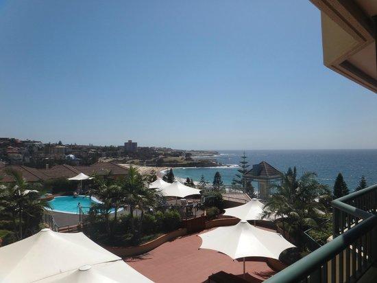 Crowne Plaza Hotel Coogee Beach - Sydney:                   Вид из номера