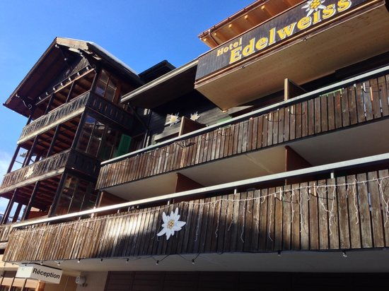 Hotel Edelweiss:                   front