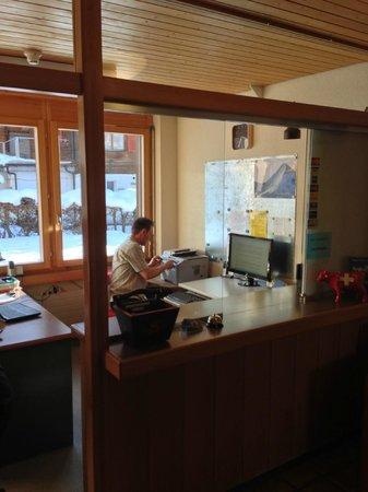 Hotel Edelweiss: Reception
