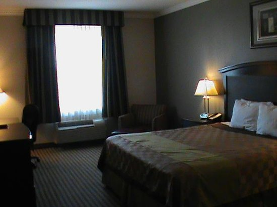 Days Inn and Suites:                   One of our rooms!