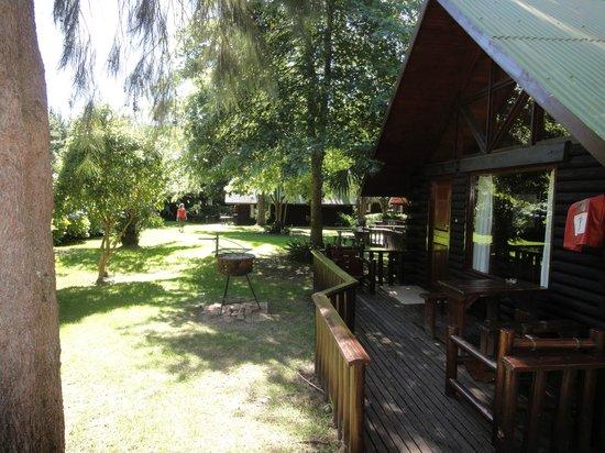 Tsitsikamma Lodge:                   Blockhütte 4