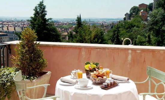Terrasse Villa Florentine : Restaurant Les Terrasses de Lyon Picture of Villa