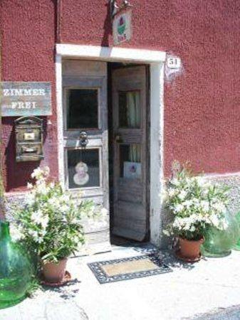 Casa Rosalie :                   Eingang