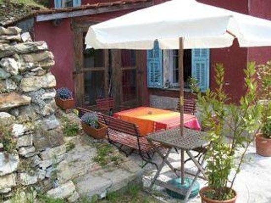Casa Rosalie :                   Terrasse