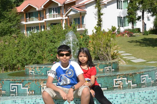 Citrus Manali Resorts:                   garden