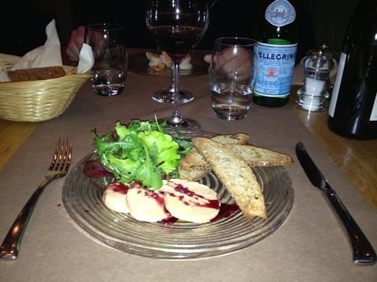 Cookie Restaurant: foie gras