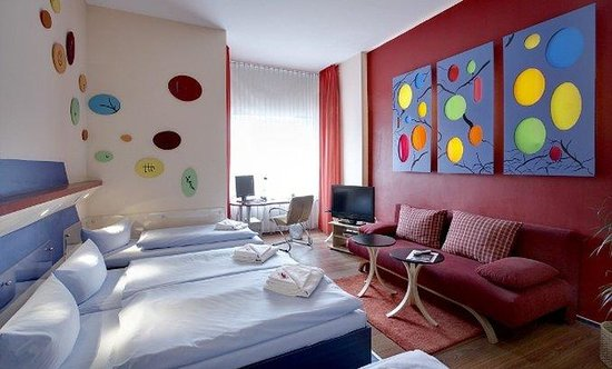Art-Hotel Charlottenburger Hof: Room