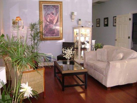 Hilton Head Island Spa & Wellness: Relaxing Waiting Area