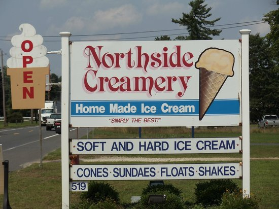 Northside Creamery: Sign