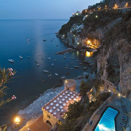 Conca dei Marini, Włochy: Pool