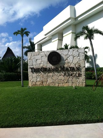 The Grand Mayan Riviera Maya:                   Building 8 in the Jungle