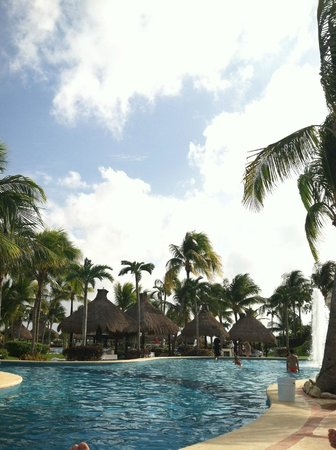 The Grand Mayan Riviera Maya:                   One of the many pools