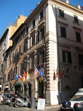 Leonardi Sistina Hotel: Exterior View