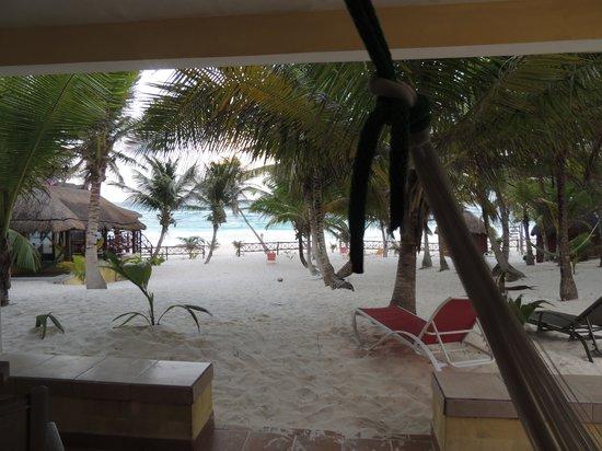 Cabanas Los Arrecifes: vista dalla camera