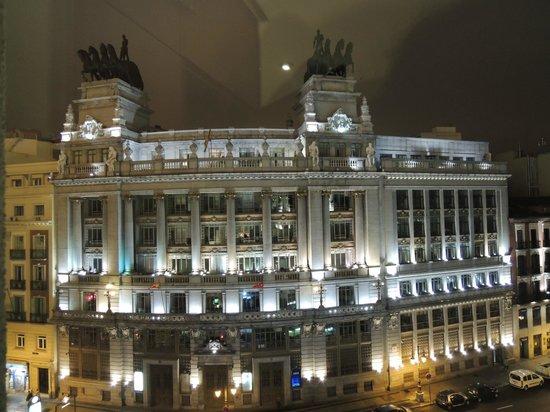 Nuestra vista picture of hotel regina madrid tripadvisor for Hotel regina madrid opiniones
