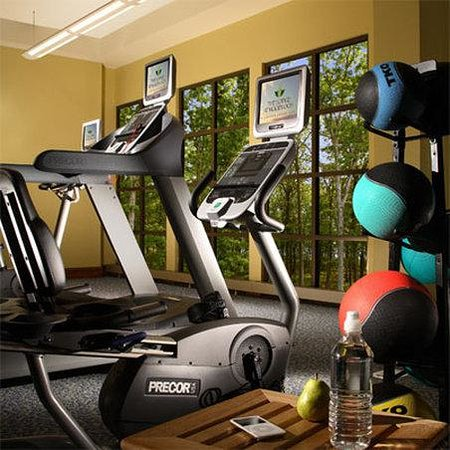 The Lodge at Woodloch: Fitness Room