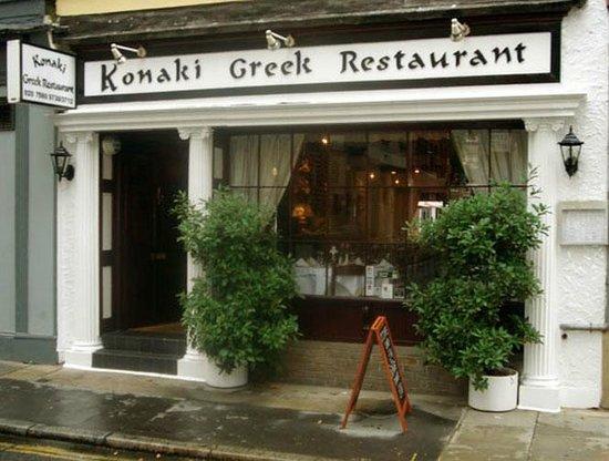 greek restaurants near british museum