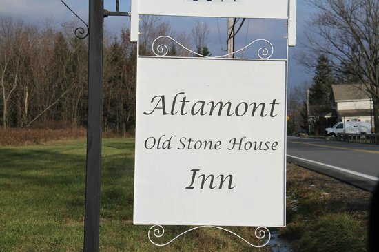 Altamont Old Stone House Inn: Welcome