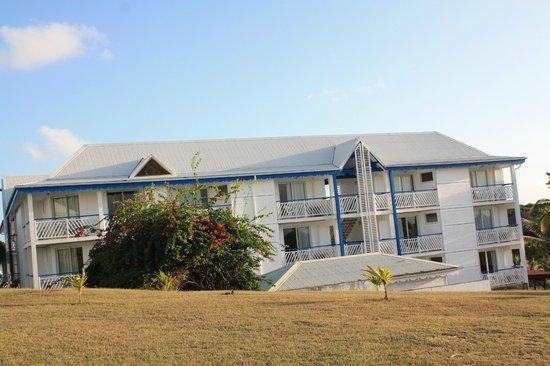 Le Manganao Hotel Club Paladien: vue sur bunginlow