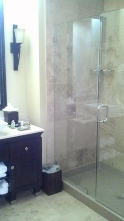 Rustic Inn Creekside Resort and Spa at Jackson Hole: superior shower - no bath