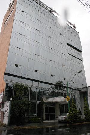 San Francisco Toluca Hotel: FACHADA PRINCIPAL