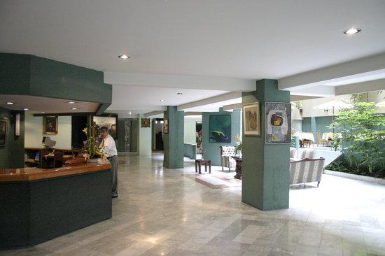 San Francisco Toluca Hotel : LOBBY