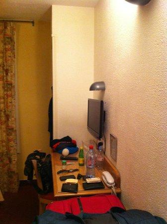 Hotel des Mines: camera da letto