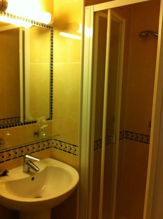 Hotel des Mines: bagno