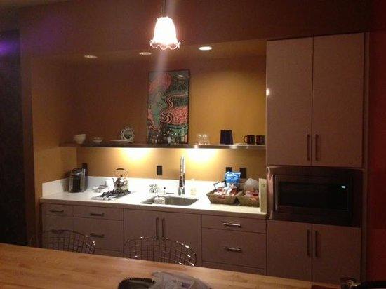 The Redbury Hollywood:                   kitchen                 