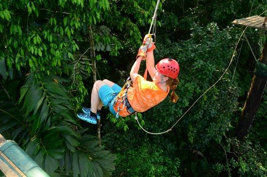 Canopy Safari:                   Tarzan Swing