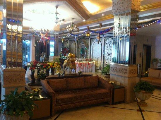 Empires Hotel Bhubaneswar: reception lobby