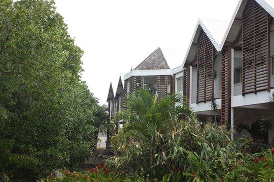 Le Manganao Hotel Club Paladien: entrée sur le site