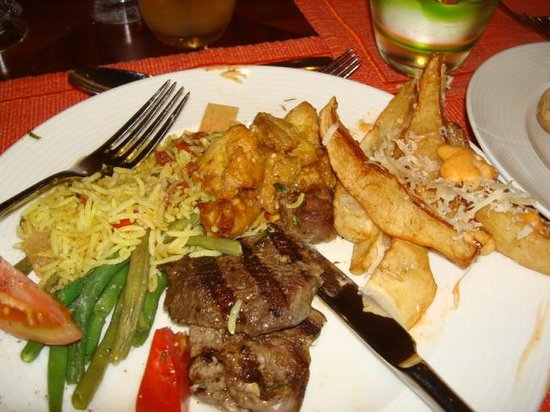 Ramada Jumeirah :                   The lamb was outstanding