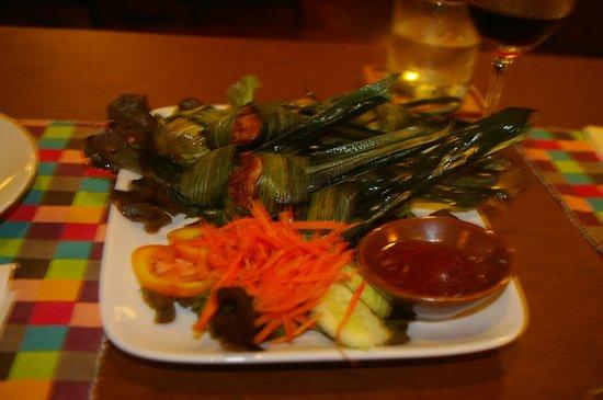 Baan Jangrapor: Main dish