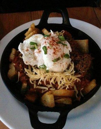Chewies Smoke and Oyster Bar - Kitsilano: Braised Short Rib Hash
