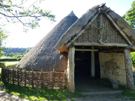Stone age house picture