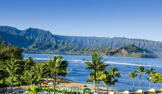 St. Regis Princeville Resort:                   This is why you pay the big bucks- open your windows & enjoy the view all day