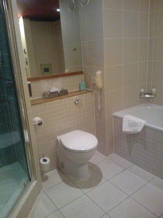 Mercure Bristol Brigstow Hotel: Bathroom
