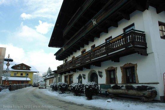 Naturerlebnishotel Kehlbachwirt:                   Front view of the Kehlbachwirt Hotel