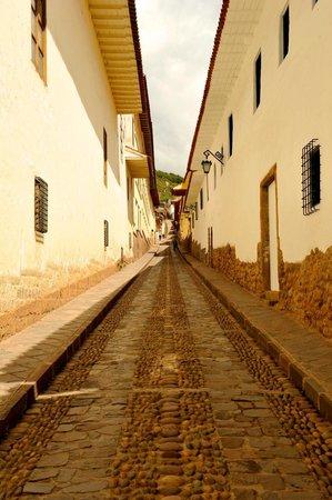 Belmond Palacio Nazarenas : Street in Front of Hotel