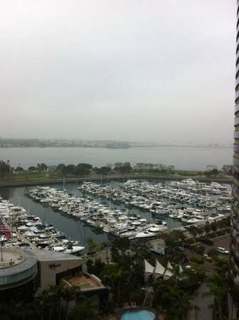 San Diego Marriott Marquis & Marina:                   14th Floor View from Room